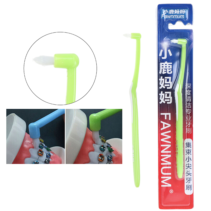 Cleaners Floss Interdental Brush Soft Bristle Orthodontic Braces Cleaning Toothbrush Cusp Tooth-Floss Oral-Care Teeth-Cleaning