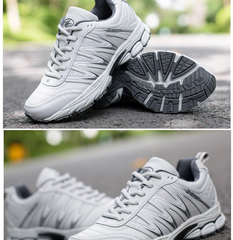 H5ab42d8f7f2e4db38bedd26fd2ad05f9F BONA 2019 New Designers Casual Shoes Men Style Cow Split Sneakers Male Lightweight Outdoor Fashion Footwear Man Trendy Comfy