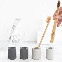 Zahnbürste halter bad zubehör tragbare reise zahnbürste abdeckung tasse werkzeug set zahnbürste halter trockenen feuchtigkeit absorption