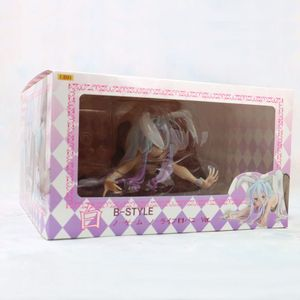 Image 5 - 11*24cm anime nenhum jogo sem vida shiro gato figura de ação pvc nova menina coelho coleção figuras brinquedos menina sexy figura