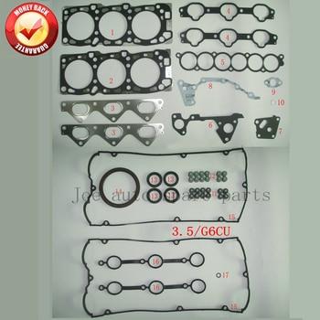 G6CU V6 Engine Full gasket set kit for Hyundai Terracan 3.5L KIA Sorento 3.5L 3.5 L  20910-39D00