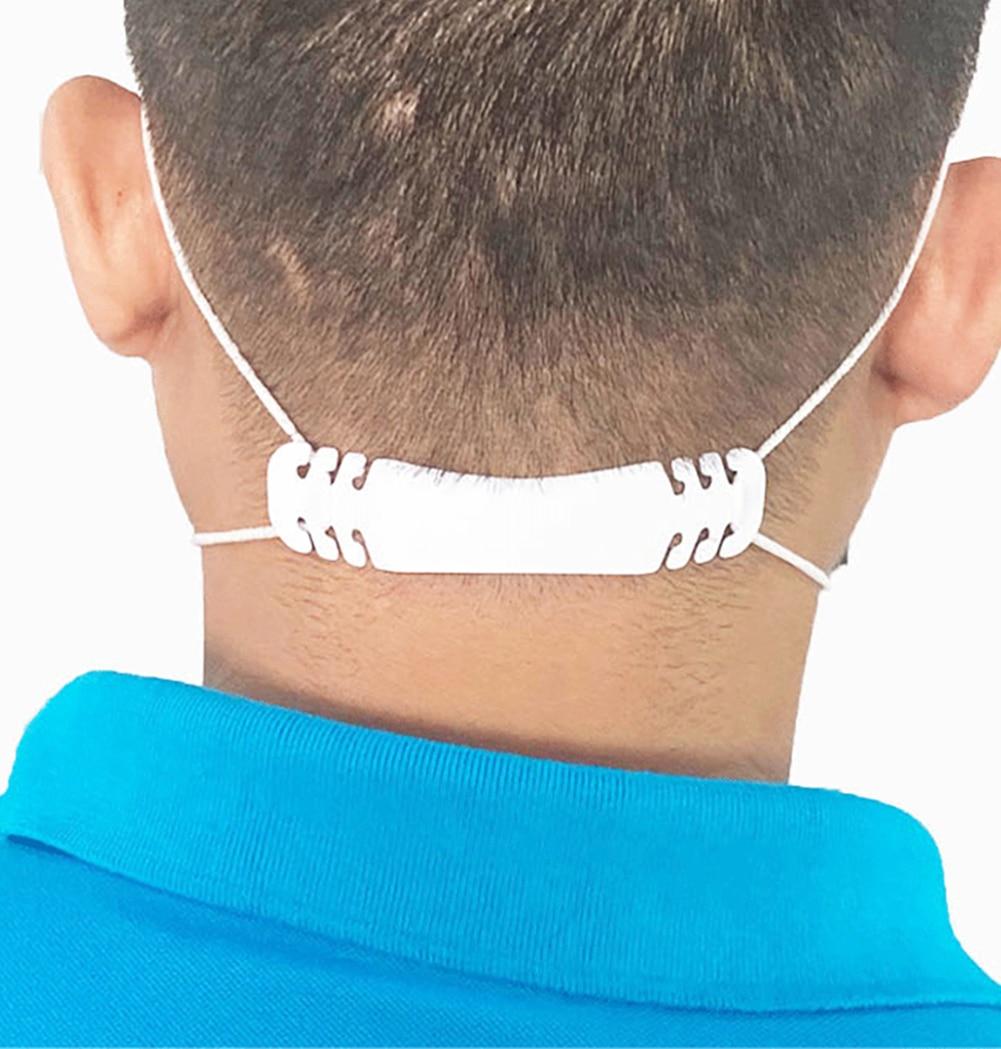 5/10pcs Adjustable Anti-slip Mask Ear Grips High Quality Extension Hook Face Masks Buckle Holder Accessories 10x2cm Hot Sale