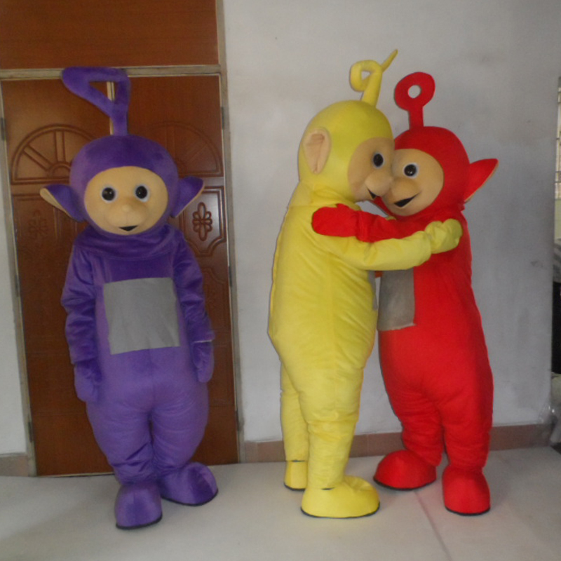 Adult mascot cute the Red the Teletubbies Mascot Costume the Teletubbies fancy dress festive costume in Mascot from Novelty Special Use