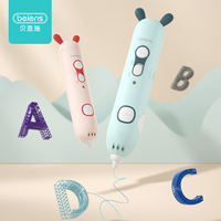 Beiens 3D Pen Creativity DIY Printing Pen Early Educational Drawing Toys ABS Filament Kids Design Drawing