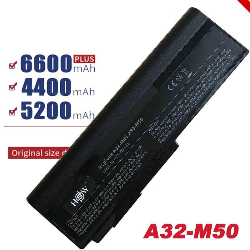 Аккумулятор для ноутбука Asus N53S, N53J, N53JQ, N61V, n61w, N43, 9 ячеек, 7800 мА · ч, Аккумулятор для ноутбука, с зарядкой от N53S, N53J, N53JQ, N61V, n61w, N43, с, бесплатная до