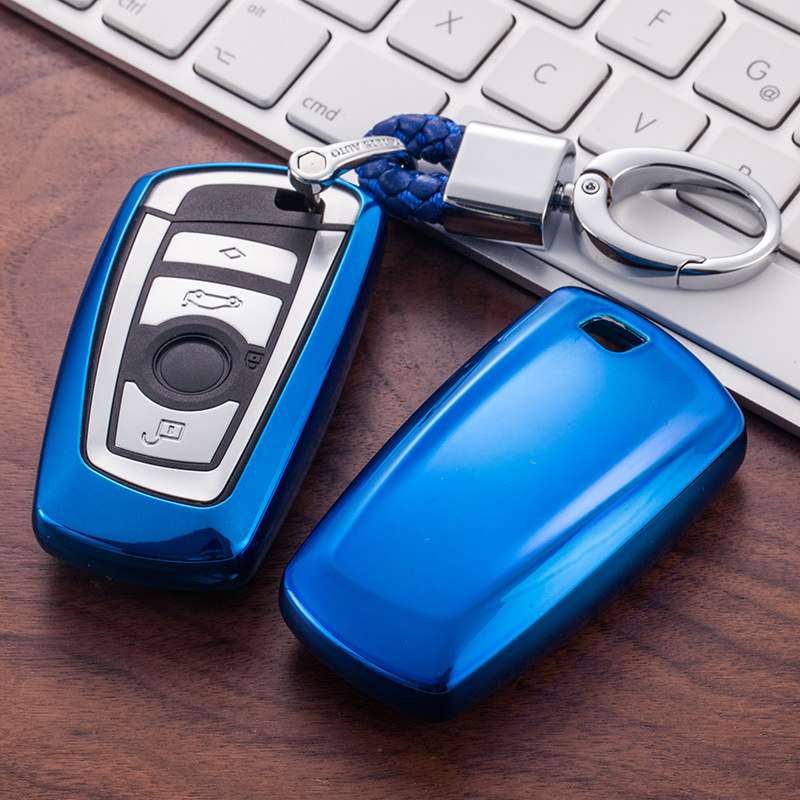 Car Styling TPU Car Key Cover Case Fit for BMW E30 E34 E36 E39 E46 F10 F11 <font><b>F31</b></font> G30 M Performance X1 F48 X3 X4 X5 Car Accessories image