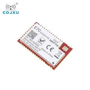 Image 5 - E70 433NW14S 스타 네트워킹 CC1310 433 mhz SMD 무선 트랜시버 IoT 14dBm 433 mhz IPEX 안테나 송신기 및 수신기
