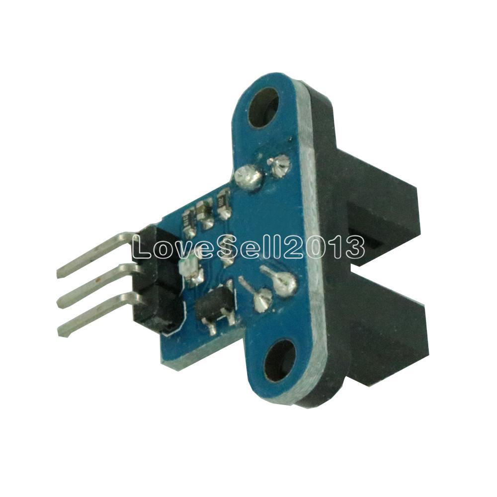 New IR Infrared Slotted Optical Speed Measuring Sensor Detection Optocoupler Module For Motor Test