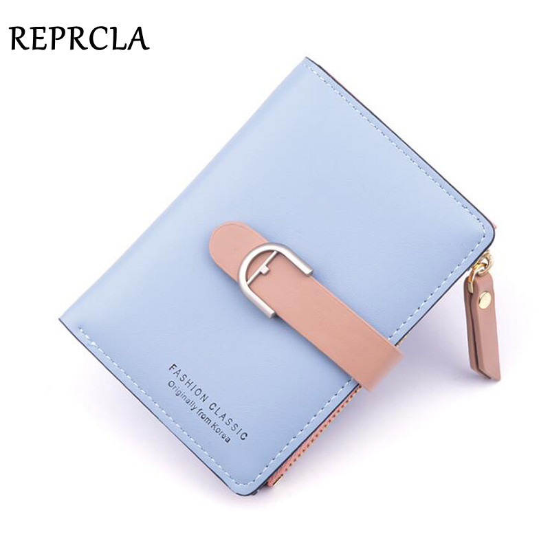 REPRCLA Fashion Ladies Wallet PU Leather Coin Bag Folding Purse Card Holder Brand Designer Women Wallets|Wallets| - AliExpress