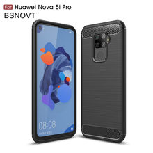 For Huawei Nova 5i Pro Case Soft Silicone Dirt-resistant Cover 5 / P20 Lite 2019