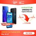 4000287960788 - UMIDIGI F2 Android 10 Global bandas 6,53 FHD + 6GB 128GB 48MP AI Quad Cámara 32MP Selfie Helio P70 Smartphone 5150mAh NFC