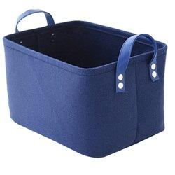 Складная корзина для белья, войлочная корзина для хранения игрушек, корзина для хранения грязной одежды, держатель для игрушек, контейнер д...
