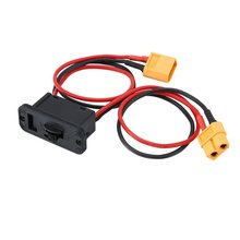 80x50x20mm Large Current Electronic Switch Lipo Battery Switch On Off Power Switch with XT60 Plug RC Model Set for RC Car Boat wild scorpion 7 4v 1800mah 2cell 30c xt60 plug for rc model