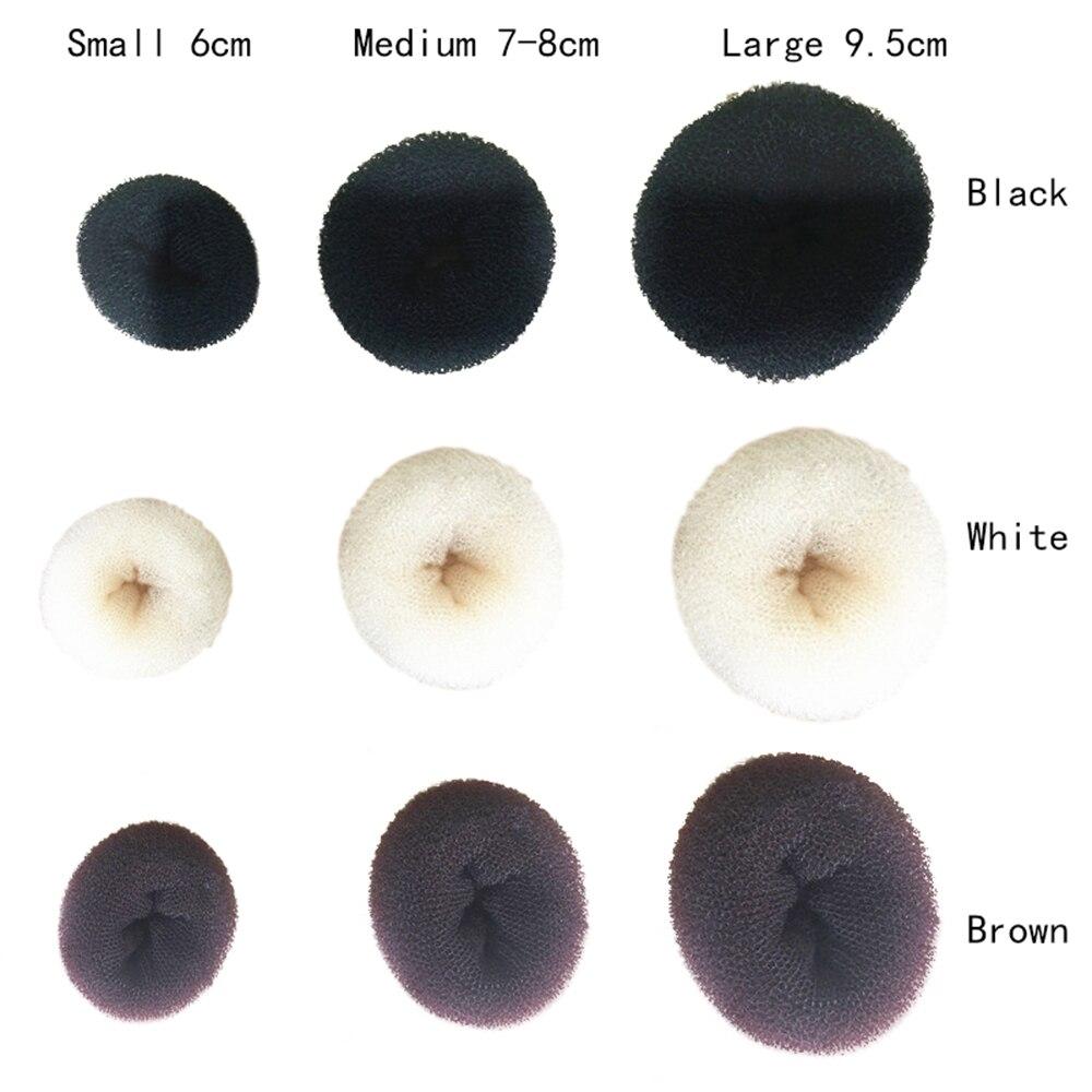1 Pcs Donut Hair Bun Ring Shaper Fashion Hairstyle Maker Tool Hair Stytle Make Up Tool