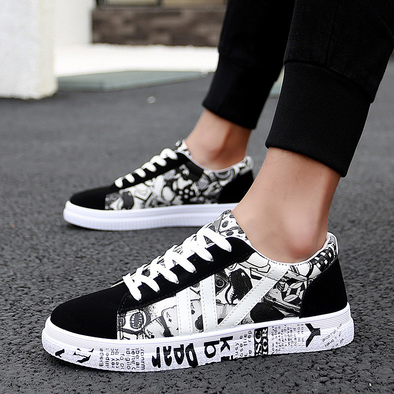 Fashion Outdoor Men Sneakers High Quality Brand Casual Breathable Shoes Flat Shoes Mens Shoes