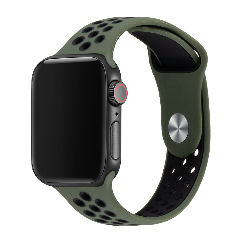 Watch Band For Iwatch Apple Watch 4 42mm 44mm Silicone Sport Watch Strap For Apple Watch 3 38mm 40mm Replacement Bands  81010