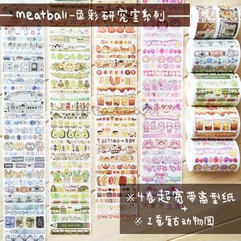 10 Pcs/lot DIY Washi Tape Cartoon Girl Japanese Paper Decorative Adhesive Tape lovely series Masking Tape Stickers