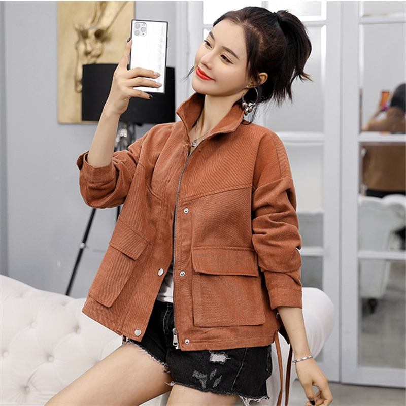 2020 Spring Autumn New Short Denim Jacket Women Korean Fashion Long Sleeve Slim Student Jeans Jacket Women Denim Coat Tide D3583