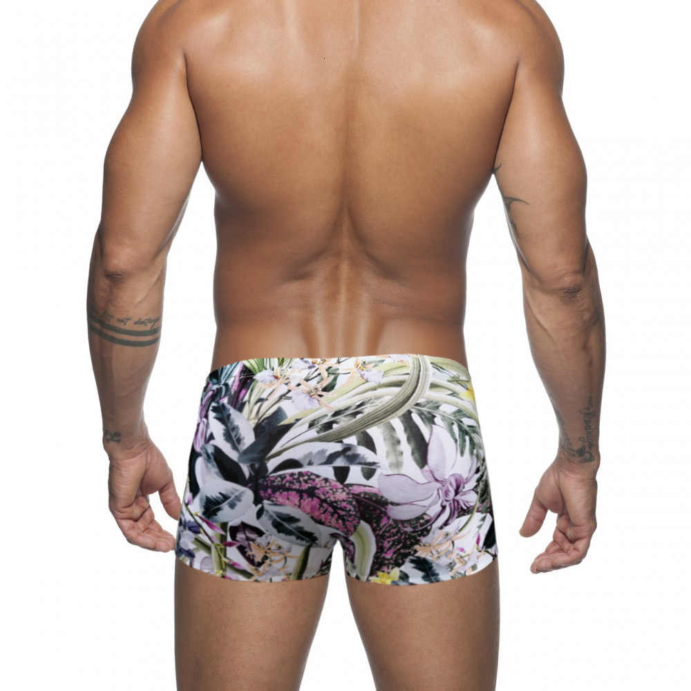 Zwemmen Shorts Voor Mannen Sexy Badmode Lage Waisr Zwembroek Slips Push Pad Badpakken Quick Dry Surfen Strand Boxer Shorts sunga