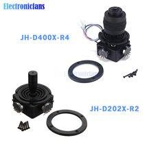 Potenciómetro de Joystick de 2 ejes JH-D202X-R2 5K, potenciómetro de 4 ejes JH-D400X-R4 10K, potenciómetro de Joystick 2D/4D, Control automático de teclado de Monitor