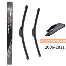 Front And Rear Wiper Blades For Land Rover Range Rover Sport 2006 2007 2008 2009 2010 2011 Windshield Wiper Auto Car Accessories front and rear wiper blades for toyota rav4 2005 2006 2007 2008 2009 2010 2011 2012 windshield windscreen car accessories