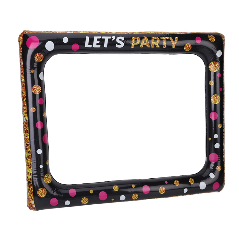 Inflatable Selfie Frame Party Picture Frame Funny Party Decoration Photo Booth Props For Carnival Wedding Christmas