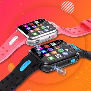 Image 2 - スマート腕時計4グラムアンドロイド電話子供スマートウォッチsimカードとtfカードデュアルカメラwifi腕時計gps測位クアッドコア