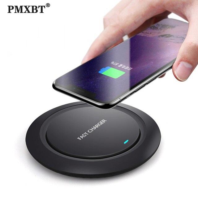10 ワットチーワイヤレス充電器サムスンS9 S10 iphone 11 プロx xs最大 8 プラスhuawei社P30 プロ高速ワイヤレス誘導充電パッド