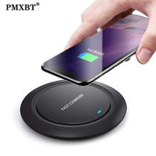 10W Qi Wireless Charger for Samsung S9 S10 iPhone 11 Pro X XS MAX 8 Plus for Huawei P30 Pro Fast Wireless Induction Charging Pad
