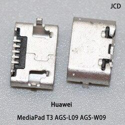 5 pces para huawei mediapad t3 AGS-L09 AGS-W09 tablet pc micro usb jack porto de carregamento, conector de plugue da cauda porta dados