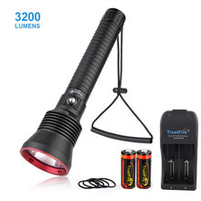 Trustfire DF70 xhp70.2 Diving Flashlight Super Bright Underwater Scuba Light 3200LM Powered by 18650 Battery Flash Light