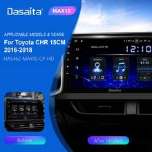 Dasaita Android 10.0 GPS for Toyota C-HR CHR Car Radio 2016 2017 2018 Car Stereo Multimedia Player TDA7850 Bluetooth 5.0 MAX10