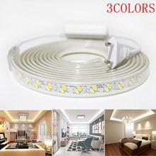 3 Colors Led Strip 220v~240v Lnterior Renovation Tv Backlight Led Lights Bedroom Decoration And Outdoor Garden Lighting