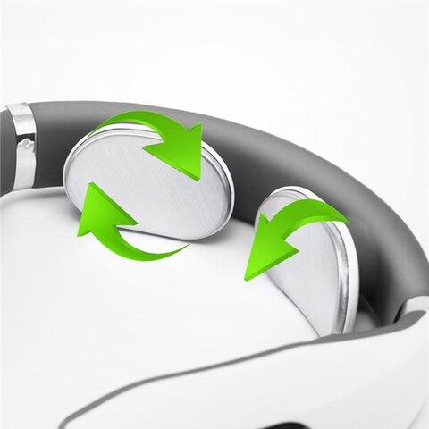 eletrica multifuncional pescoco massageador eletromagnetico pulso de