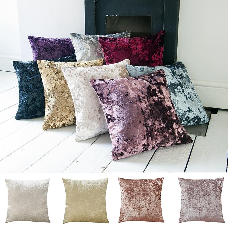 Fundas de almohada cojín cojines decorativos funda 45x45 zierkissen terciopelo Love DreamCatcher