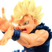 Anime dragon ball z son goku super saiyan dragon ball figura de ação pvc collectible modelo brinquedo(China)