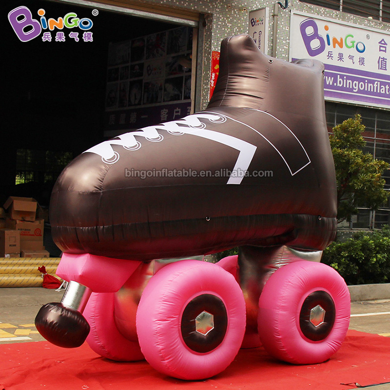 Customized 3m <font><b>Inflatable</b></font> Ice Skates Balloon/<font><b>Inflatable</b></font> <font><b>Billboard</b></font> Decor for Sportswear Expo image