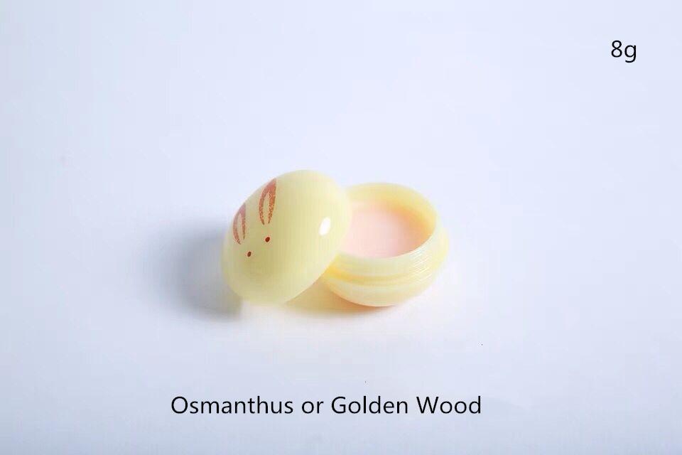 Jade Rabbit Balm / Solid Perfume Peach Shending Flower Kinmokusei Jinchouge