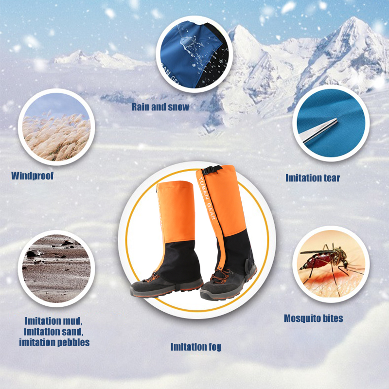 Outdoor Mountaineering Hiking Skiing Desert Sand Shoes Leggings Cover Foot Cover Camouflage Boots Men and Women Boot in Sneaker Accessories from Sports Entertainment