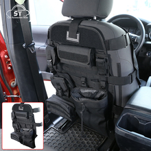 10pcs Car Seat Back Organizer Multifunctional Building Tool Storage Bag for Toyota Tacoma