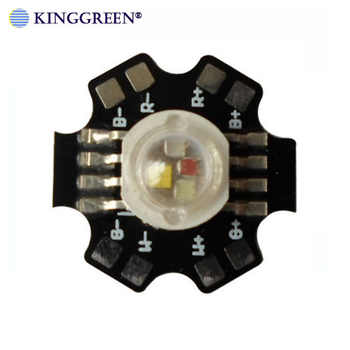 20X Supper bright 4W 12W  RGBW  LED lamp beads 45mil Epileds chip 8 pin  high power RGBW light source free shipping - DISCOUNT ITEM  0% OFF All Category