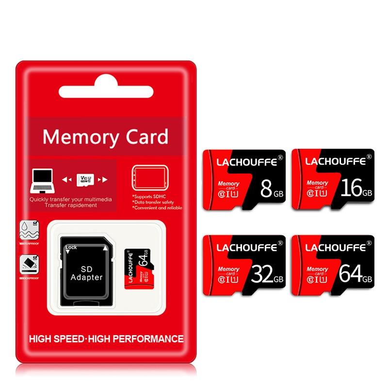 Micro SD TF Card 8GB 16GB 32GB 64GB C10 Flash Drive Memory Microsd Card 8 16 32 64 GB For Smartphone Adapte Free Shipping