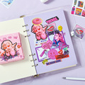 Mohamm 60 Pcs/Box Creative And Cute Sticker Scrapbooking Stationery School Supplies