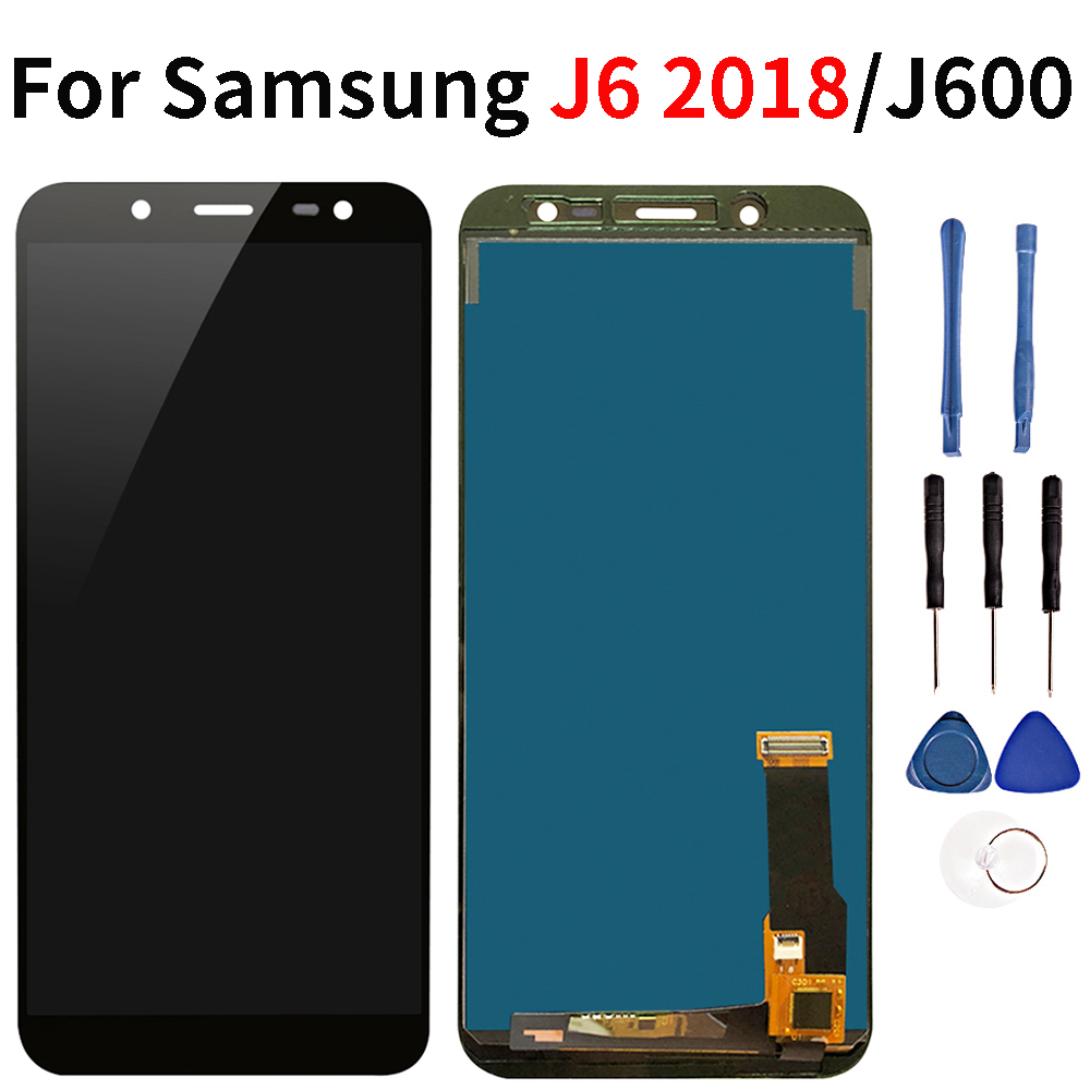 Qualität Lcd Für <font><b>Samsung</b></font> <font><b>Galaxy</b></font> <font><b>J6</b></font> <font><b>J600</b></font> <font><b>2018</b></font> LCD Touch Screen Display J600F J600F/DS J600G/DS Lcd image