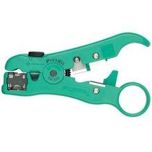 CP-505 multifuncional para pelar, cable extra ble/teléfono/cable coaxial, Envío Gratis