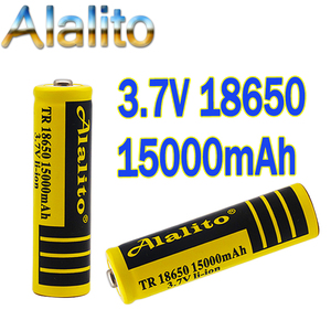 2020 new 18650 Li-Ion battery 15000mah rechargeable battery 3.7V for LED flashlight flashlight or electronic devices batteria