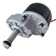 250W 24V 60mm Longer Shaft Axle Geared Brush Motor MY1016Z2 Self balance sports electric Scooter DC Motor Low Speed Wheel Chair(China)