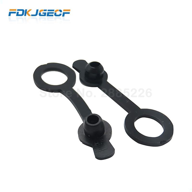 10pce/LOT Waterproof Cap DC099 5.5 Mm X 2.1mm DC Power Jack Socket Female 11MM 5.5*2.1 5.5*2.5MM Waterproof