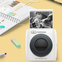 Bluetooth-Printer Thermal-Label-Sticker Pocket Photo Mobile-Phone 300DPI Paperang P2