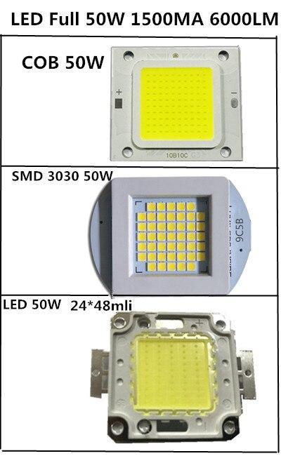 Full Watts LED COB 3030 10W 20W 30W 50W 1500MA 32V 6500LM 1500MA LED  Led Chip 50w High Power Led LAMP Light  For Street Light